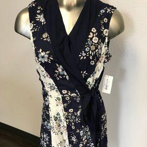 Maison Jules Wrap Dress